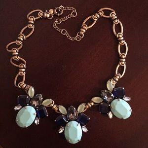 J Crew chunky necklace.